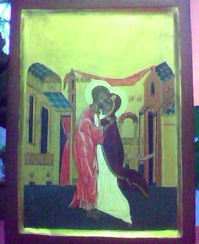 Rencontre de Joseph et Marie